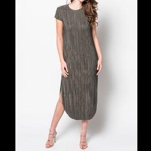 Sabina Musayev Shirin Green Dress Dress Sz XL